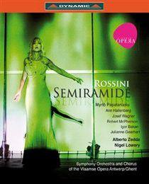 Semiramide: Vlaamse Opera Gent - Zedda (Import Blu-ray)