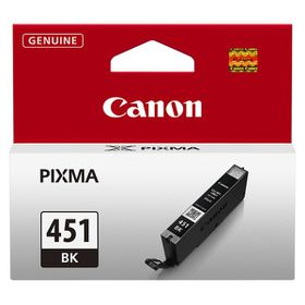 Canon CLI-451BK Black Single Ink Cartridge