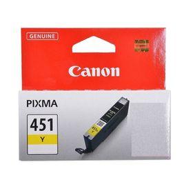 Canon CLI-451Y Yellow Single Ink Cartridge