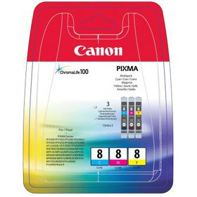 Canon CLI-8 Colour Single Ink Multipack