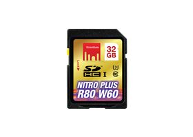 Strontium 32GB Nitro Plus SD SDXC UHS-1 Card (Read 80MB/s Write 60MB/s)
