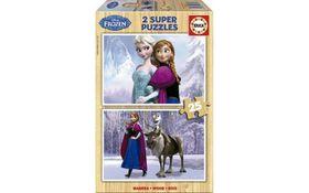 Educa Frozen Wooden Puzzle - 2 x 25 Piece