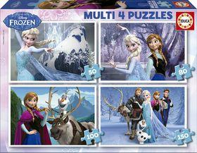Educa Frozen Multi 4 Puzzles