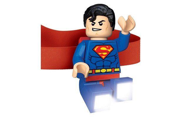 LEGO Super Heroes   Superman Head Lamp. Loading Zoom