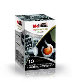 Caffe Molinari - Qualita Gourmet 100% Arabica Blend
