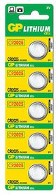 GP Batteries 3V CR2025 Lithium Coin Batteries