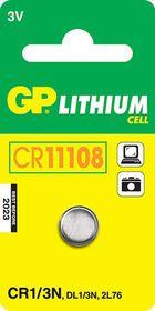 GP Batteries 3V CR1/3N Lithium Coin Battery