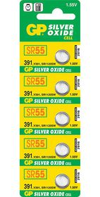 GP Batteries 1.55V 391 Silver Oxide Button Cell Batteries
