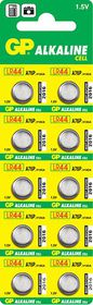 GP Batteries 1.5V A76 (357/LR44) Alkaline Button Cell Batteries