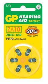 GP Batteries 1.4V ZA10 Hearing Aid Zinc Air Batteries
