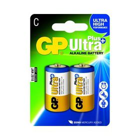 GP Batteries C Alkaline Ultra Plus Batteries