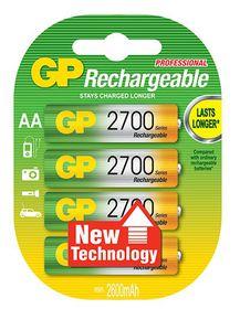 GP Batteries 1.2V AA 2700 mAh NiMH Rechargeable Batteries
