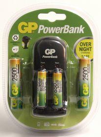 GP Batteries AA 2500 mAh and AAA 700 mAh Battery and S350 Charger Bundle