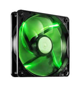 Cooler Master Sickelflo 120mm Chassis Cooling Fan - Green LED