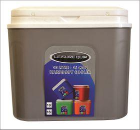 LeisureQuip - 10 Litre Hardbody Cooler - Silver