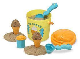 Melissa & Doug Speck Seashorse Sand Ice Cream Set