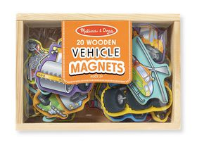 Melissa & Doug Vehicle Magnet Set