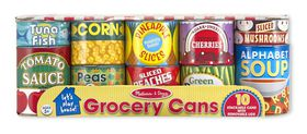 Melissa & Doug Playfood Cans