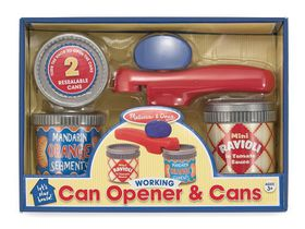 Melissa & Doug Can Opener & Cans