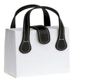 Eco Ladies Foldout Jewellery Box - White