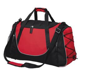 Eco Matrix Duffel Bag - Red & Black