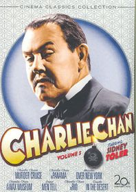 Charlie Chan Vol 5 - (Region 1 Import DVD)