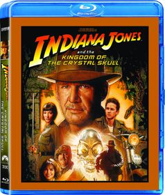 Indiana Jones and the Kingdom of the Crystal Skull (2008) (Blu-ray)