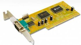 Mecer PCi 1 Port Serial (Remap) Card-With L / P Bracket