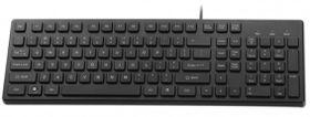 Mecer MK-U03BK USB Slim Keyboard - Black