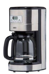 Defy - Inox 1000W Coffee Maker - Stainless Steel