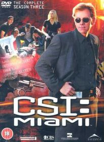 CSI Miami: Complete Season 3 (DVD)