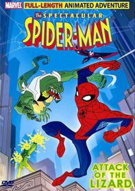Spectacular Spider-Man Vol. 1 : Attack of the Lizard - (DVD)