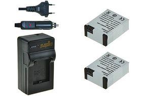 Jupio 302 Li ion Battery and Charger Bundle
