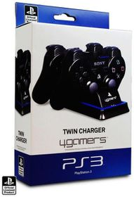 4Gamers Twin Controller Charging Dock (PS3)