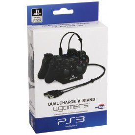 4Gamers - Twin Controller Charging Dock (PS3)