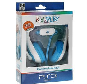 KidzPLAY Stereo Gaming HeadSet - Blue (PS3)