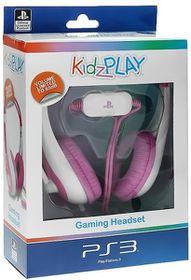 KidzPLAY Stereo Gaming HeadSet - Pink (PS3)