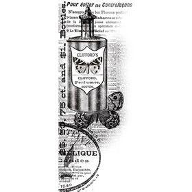 KaiserCraft Clear Texture Stamp - Perfume
