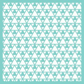KaiserCraft 12x12 Template - Triangles