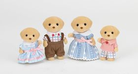 Sylvanian Family Yellow Labrador Family