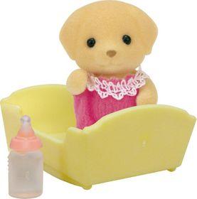 Sylvanian Family Yellow Labrador Baby