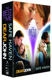 The Best Of Me, Safe Haven & Dear John Boxset (DVD)