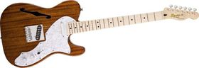 Squier by Fender Classic Vibe Telecaster Thinline Electric Guitar Maple Fretboard - Natural