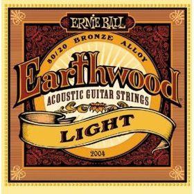Ernie Ball 2004 Earthwood Light 80/20 Bronze Acoustic String Set (11 - 52)