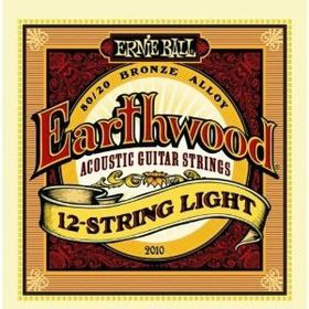Ernie Ball 2010 Earthwood 12-String Light 80/20 Bronze Acoustic String Set (09 - 46)