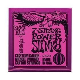 Ernie Ball 2620 7-String Power Slinky Nickel Wound Set (11 - 58)