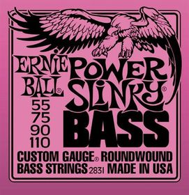 Ernie Ball 2831 Power Slinky Nickel Wound Bass Set (55 - 110)