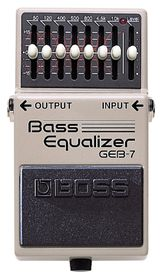 Boss GEB-7 7-Band Bass Graphic Equaliser Effects Pedal