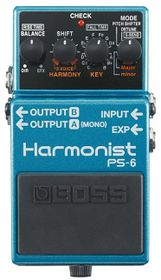 Boss PS-6 Harmonist Effects Pedal