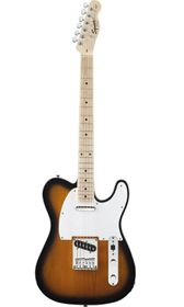 Squier by Fender Affinity Telecaster Electric Guitar - Maple Fretboard - 2 Tone Sunburst